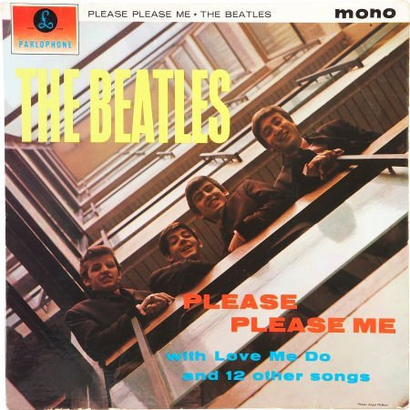 51007: The Beatles Please Please Me Mono LP (UK - Parlo