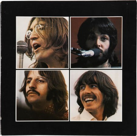 51009: The Beatles Let It Be LP (Canada - Apple 6351, 1