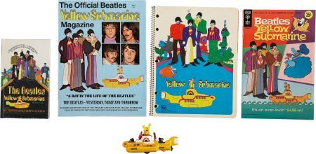 51020: The Beatles Yellow Submarine Toy with Assorted B