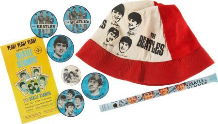 51021: The Beatles Assorted Memorabilia Items.