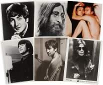 51025: Beatles Related - John Lennon Photo Group of 18.