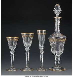 A Thirty-Seven Piece St. Louis Glass Excellence