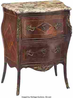 61104: A French Louis XV-Style Gilt Bronze Mounted Parq