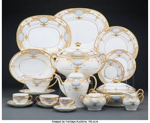 A One Hundred and Twenty-Three-Piece Minton Part