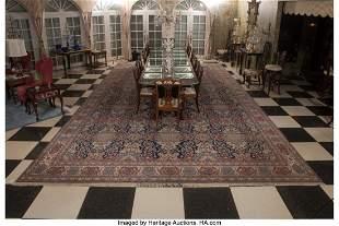 61013: A Kashan Rug, circa 1900 310 x 165 inches (787.4