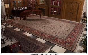 A Tabriz Rug 304-1/2 x 194 inches (773.4 x 492.8