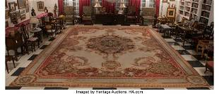 A French Aubusson Palatial Tapestry, circa 1820