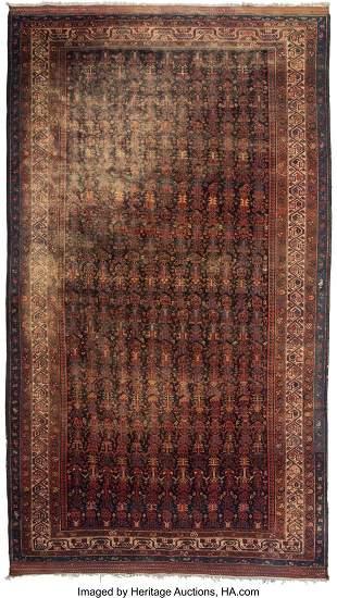 61029: A Hamadan Rug, circa 1930 137 x 77 inches (348.0