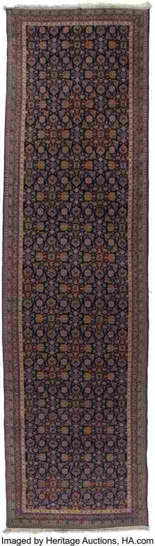 61030: A Sarouk Feraghan Rug, circa 1920 178 x 49 inche
