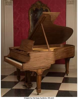 61091: A Steinway & Sons Model B Grand Piano, circa 191