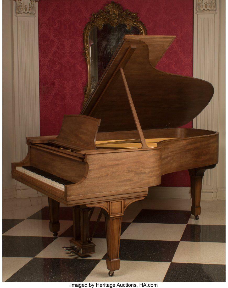 A Steinway & Sons Model B Grand Piano, circa 191
