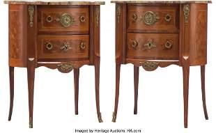 61096: A Pair of French Louis XVI-Style Gilt Bronze Mou
