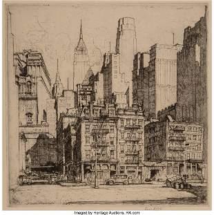 28182: Ernest David Roth (German/American, 1879-1964) T