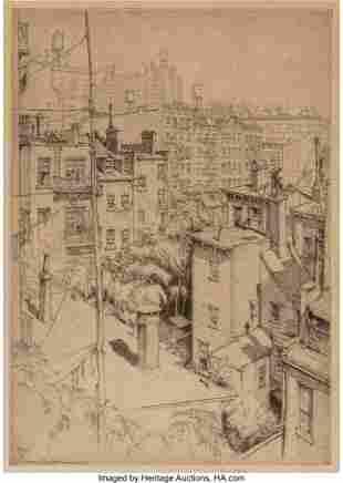 28183: Ernest David Roth (German/American, 1879-1964) G