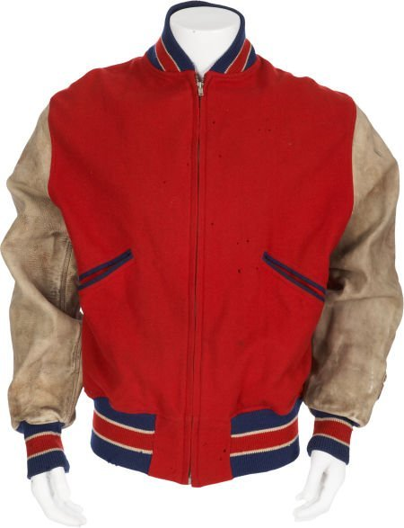 1940's Cincinnati Reds Game Worn Jacket.