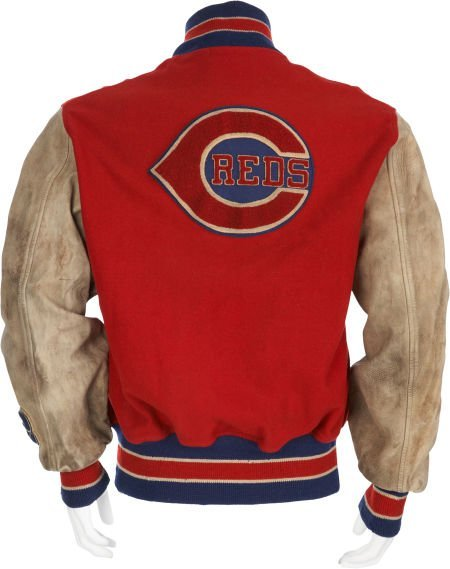 1940's Cincinnati Reds Game Worn Jacket. - 2