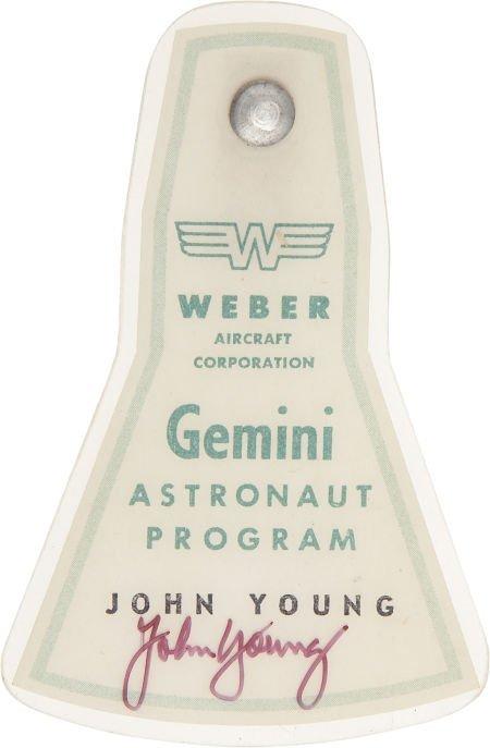 41016: Gemini/ Weber Aircraft Astronaut Program Badge D
