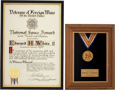 41020: Gemini 4: National Space Award Gold Medal and Ci