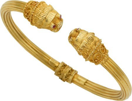 59010: Ruby, Gold Bracelet, Lalaounis, Greek