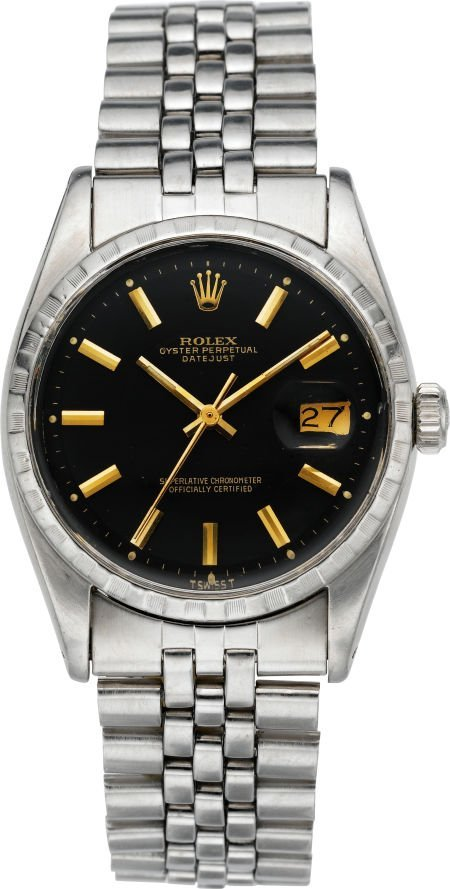 61011: Rolex Ref. 6605 Oyster Perpetual Datejust, circa