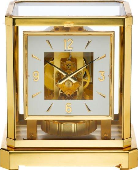 61207: LeCoultre Atmos Clock, circa 1980's