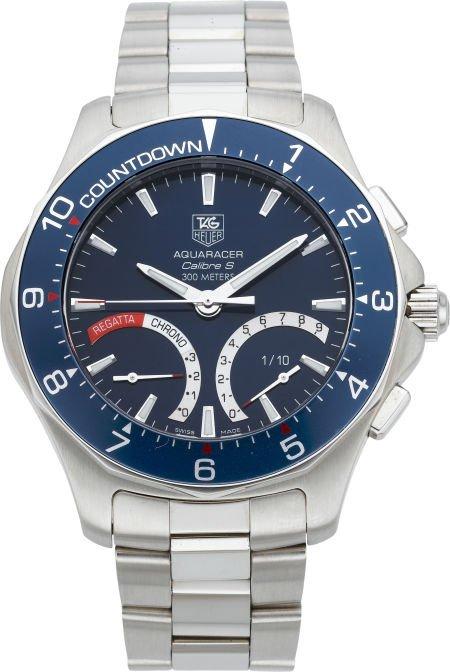 61208: Tag Heuer Aquaracer Calibre S Gent's Wristwatch,
