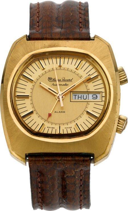 61210: Lucien Piccard Automatic Wrist Alarm With Origin