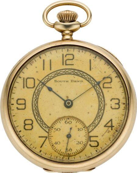 61221: South Bend 14k Gold Grade 429, circa 1921