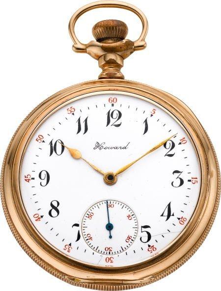 61258: Howard 16 Size Pocket Watch, circa 1908
