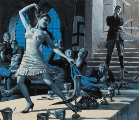 87018: MORT KÜNSTLER (American, b. 1931) The Frauleins
