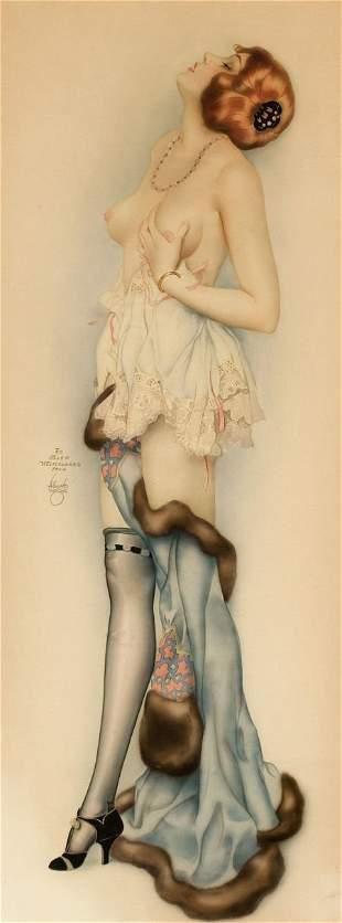 87551: ALBERTO VARGAS (American, 1896-1982) Reverie, c.