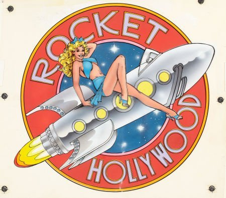 87714: AMERICAN ARTIST (20th Century) Rocket Hollywood