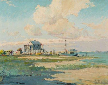67012: PAUL RICHARD SCHUMANN (American, 1876-1946) Seas
