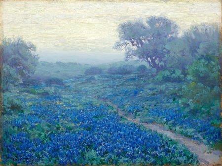 67018: JULIAN ONDERDONK (American, 1882-1922) Bluebonne