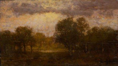 67020: JULIAN ONDERDONK (American, 1882-1922) Landscape