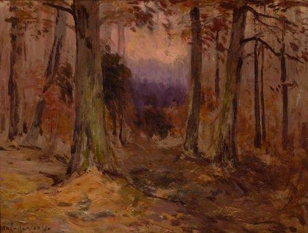 67021: JULIAN ONDERDONK (American, 1882-1922) Landscape