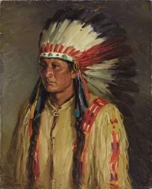 67135: JOSEPH HENRY SHARP (American, 1859-1953) Jerry O