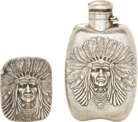 47337: American Indian: Unger Brothers Sterling Silver