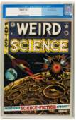 Weird Science 11 Gaines File Copy pedigree EC 1952