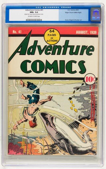 Adventure Comics #41 Mile High pedigree (DC, 1939) CGC
