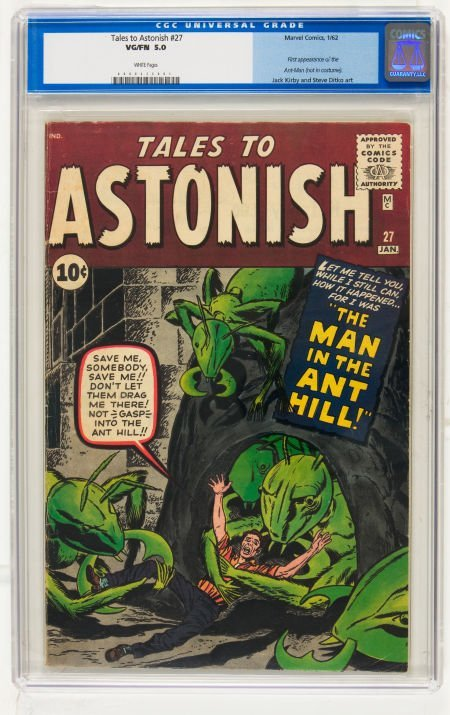 Tales to Astonish #27 (Marvel, 1962) CGC VG/FN 5.0 Whit