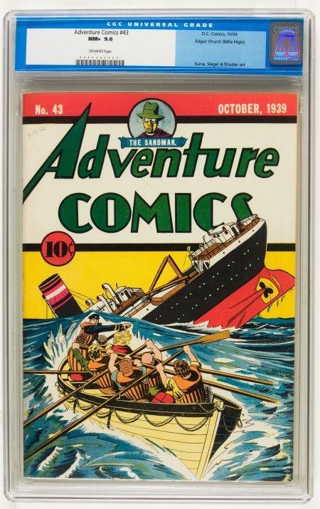 Adventure Comics #43 Mile High pedigree (DC, 1939) CGC