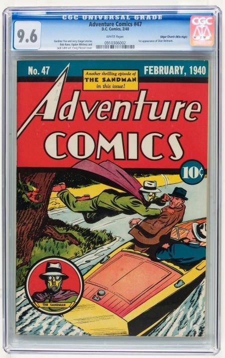 Adventure Comics #47 Mile High pedigree (DC, 1940) CGC