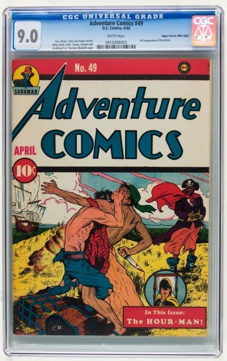 Adventure Comics #49 Mile High pedigree (DC, 1940) CGC