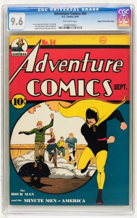 Adventure Comics #54 Mile High pedigree (DC, 1940) CGC