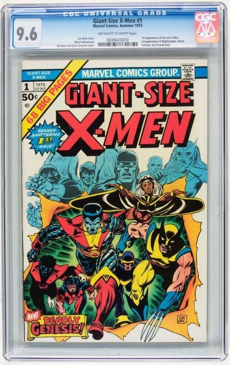 Giant-Size X-Men #1 (Marvel, 1975) CGC NM+ 9.6 Off-whit