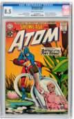 Showcase #34 The Atom (DC, 1961) CGC VF+ 8.5 Cream to o