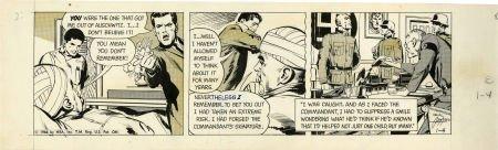 Neal Adams Ben Casey Daily Comic Strip Original Art dat