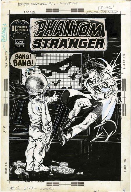 Neal Adams Phantom Stranger #13 Cover Original Art (DC,