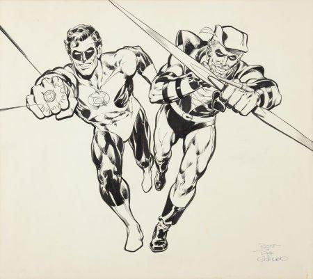 Neal Adams and Dick Giordano Green Lantern/Green Arrow